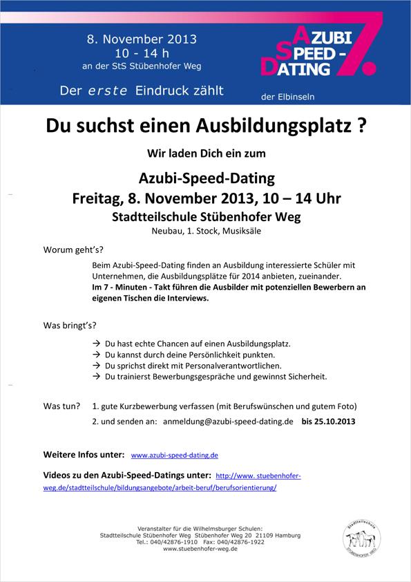 azubi Speed dating Hamburg 2014 første dating skanning graviditet