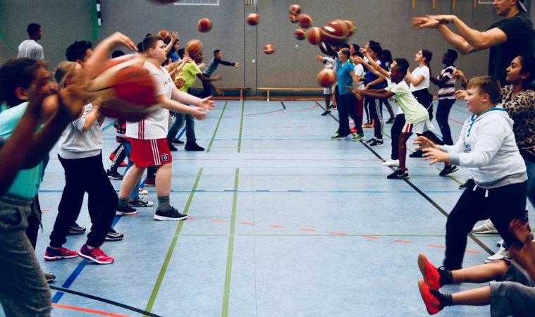 Basketball im September!